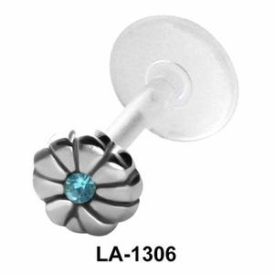 Flower Shaped Labrets Push-in LA-1306
