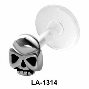 Hollow Skull Shaped Labrets Push-in LA-1314