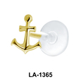 Anchor Shaped Labrets Push-in LA-1365