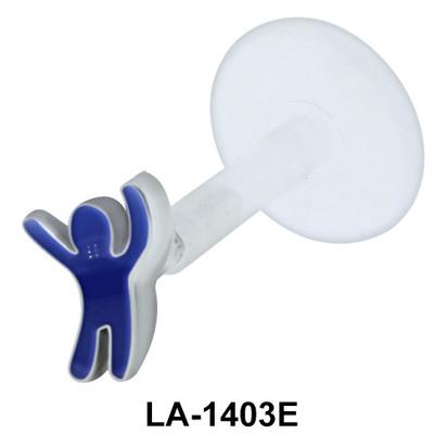 Enamel Male Toy Push-In Mini LA-1403E