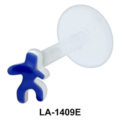 Blue Man Push-In Mini LA-1409E