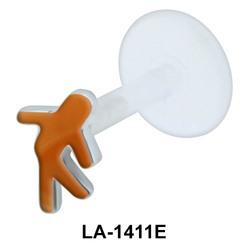 Brown man Push-In Mini LA-1411E