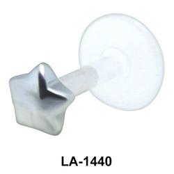 Star Shaped Labrets Push-in LA-1440