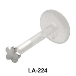Flower Shaped Labrets Push-in LA-224