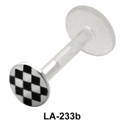 Checks Design Labrets Push-in LA-233b