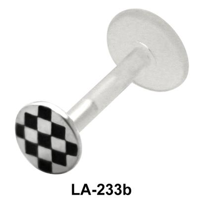 Checks Design Labrets Push-in LA-233b