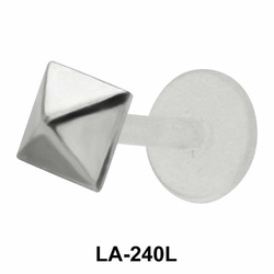 Pyramid Shaped Labrets Push-in LA-240L