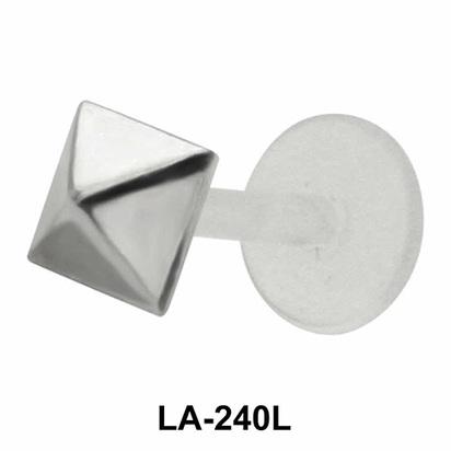 Pyramid Shaped Labrets Push-in LA-240L