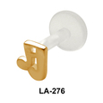 Musical Note Shaped Labrets Push-in LA-276