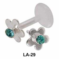 Detachable Flower Labrets Push-in LA-29