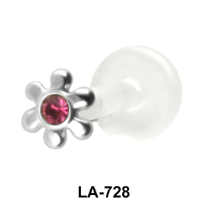 Stone Set Flower Monroe Piercing LA-728