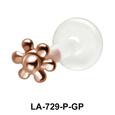 Flower Shaped Labret Push-in LA-729
