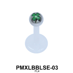 Leaf Labret Piercing PMXLBBLSE-03