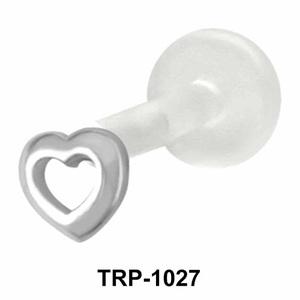 Hollow Heart Tragus Piercing TRP-1027