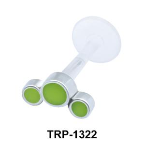 Tri Circles Tragus Piercing TRP-1322
