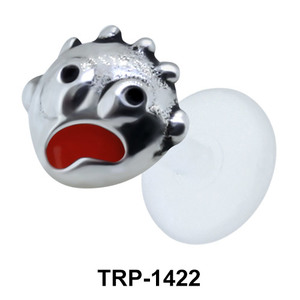 Scary Face Tragus Piercing TRP-1422