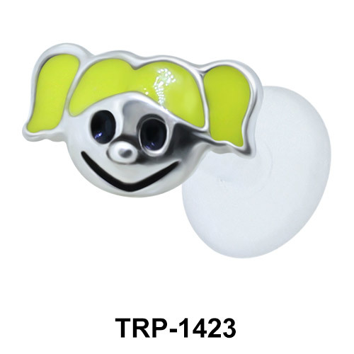Girl Face Tragus Piercing TRP-1423