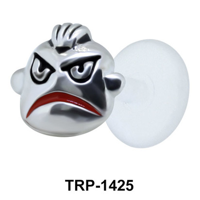 Angry Face Tragus Piercing TRP-1425