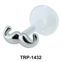Mustache Tragus Piercing TRP-1432