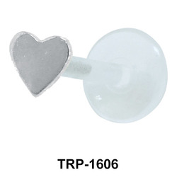 Solid Heart Tragus Piercing TRP-1606