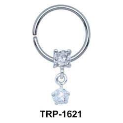 Dazzling Circle Shaped Tragus Piercing TRP-1621
