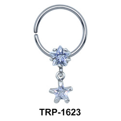 Dual Star Closure Ring Charms TRP-1623