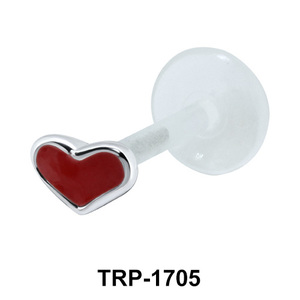 Pretty Heart Shaped Tragus Piercing TRP-1705