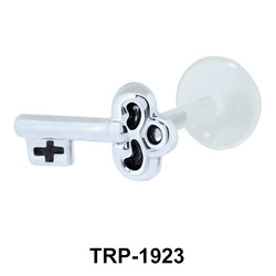 Ancient Key Ear Piercing TRP-1923