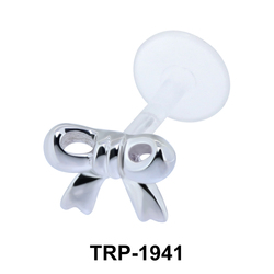 Cute Ribbin Shaped Tragus Piercing TRP-1941