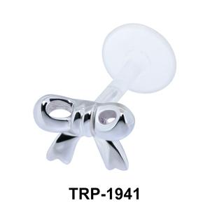 Cute Ribbin Shaped Tragus Piercing TRP-1941