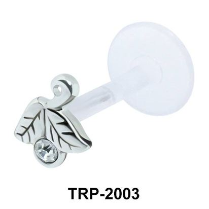 Inverted Leaves Tragus Piercing TRP-2003