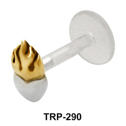 Burning Heart Tragus Piercing TRP-290