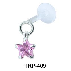 Starry Stone Tragus Piercing TRP-409