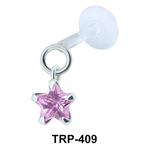 Starry Stone Tragus Piercing TRP-409