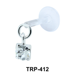 Colorful Stone Tragus Piercing TRP-412