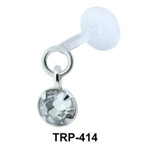 Stone Dangling Tragus Piercing TRP-414