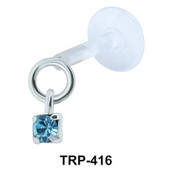 Colorful Stone Tragus Piercing TRP-416