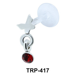 Butterfly Tragus Piercing TRP-417