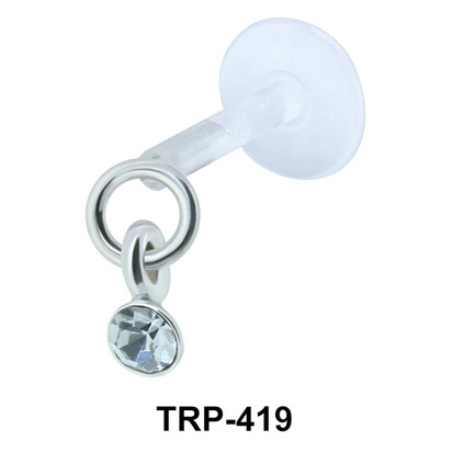 Stoned Tragus Piercing TRP-419