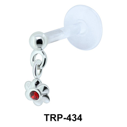 Floral Design Tragus Piercing TRP-434