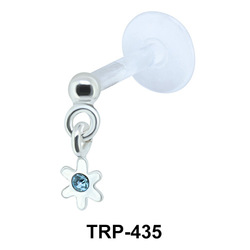 Flower Design Tragus Piercing TRP-435