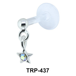 Star Tragus Piercing TRP-437