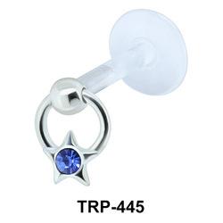 Star Design Tragus Piercing TRP-445