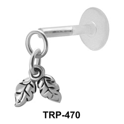 Double Leaves Tragus Piercing TRP-470
