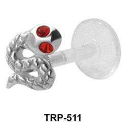 Snake Shaped Tragus Piercing TRP-511