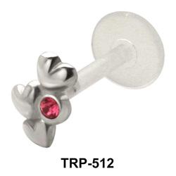 Triple Heart Tragus Piercing TRP-512