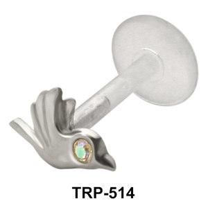 Bird Shaped Tragus Piercing TRP-514