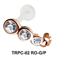 Tail Shaped Tragus Piercing TRPC-02