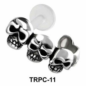 Skulls Tragus Cuffs TRPC-11