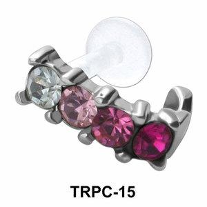 Multistone Tragus Cuffs TRPC-15